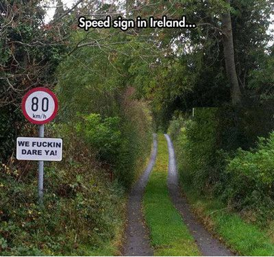 Funniest Memes speed-sign-in-ireland 13854