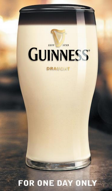 guiness one day only